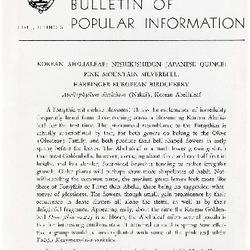 Bulletin of Popular Information V. 28 No. 02