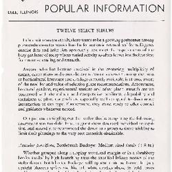 Bulletin of Popular Information V. 27 No. 10-11
