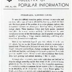 Bulletin of Popular Information V. 26 No. 07