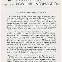 Bulletin of Popular Information V. 28 No. 09