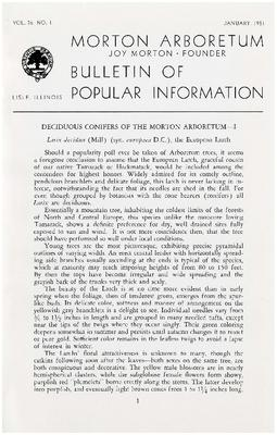 Bulletin of Popular Information V. 26 No. 01