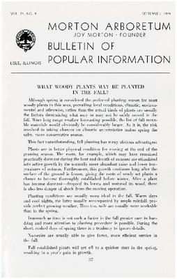 Bulletin of Popular Information V. 24 No. 09
