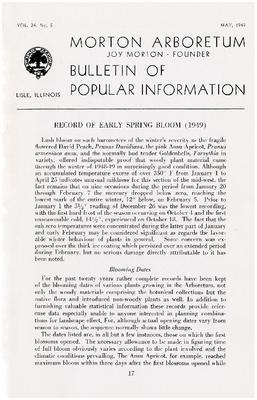Bulletin of Popular Information V.24  No. 05