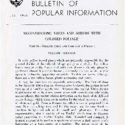 Bulletin of Popular Information V. 25 No. 05