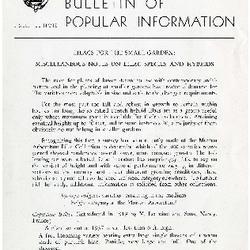 Bulletin of Popular Information V. 31 Index