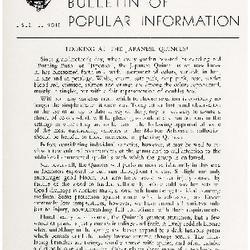 Bulletin of Popular Information V. 31 No. 11