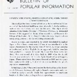 Bulletin of Popular Information V. 25 No. 07