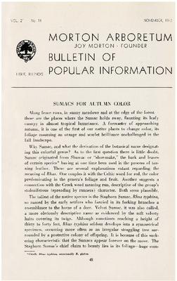 Bulletin of Popular Information V. 21 No. 11