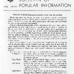 Bulletin of Popular Information V. 30 No. 03