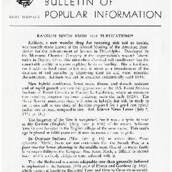 Bulletin of Popular Information V. 27 No. 01