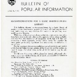 Bulletin of Popular Information V. 21 No. 12