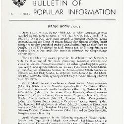 Bulletin of Popular Information V. 30 No. 12