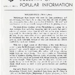 Bulletin of Popular Information V. 29 No. 01