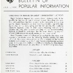 Bulletin of Popular Information V. 31 No. 12