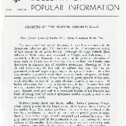 Bulletin of Popular Information V. 29 No. 11