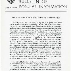 Bulletin of Popular Information V. 30 Index