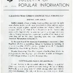 Bulletin of Popular Information V. 25 No. 12
