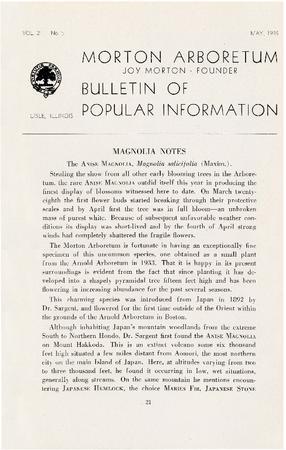 Bulletin of Popular Information V. 21 No. 05