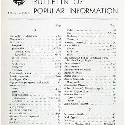 Bulletin of Popular Information V. 31 No. 07