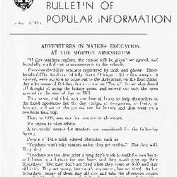 Bulletin of Popular Information V. 25 No. 09-10