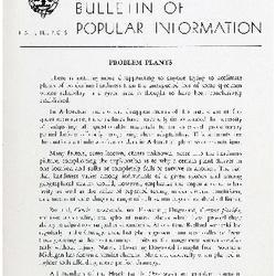 Bulletin of Popular Information V. 31 No. 06
