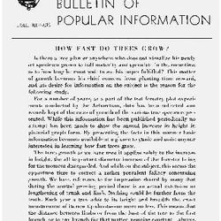 Bulletin of Popular Information V. 25 No. 11