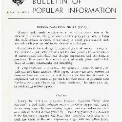 Bulletin of Popular Information V. 28 No. 01