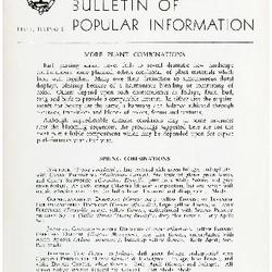 Bulletin of Popular Information V. 31 No. 10