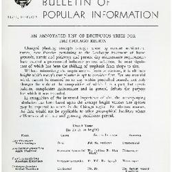 Bulletin of Popular Information V. 31 No. 09