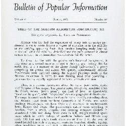 Bulletin of Popular Information V. 38 No. 06