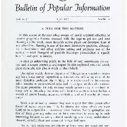 Bulletin of Popular Information V. 34 No. 10