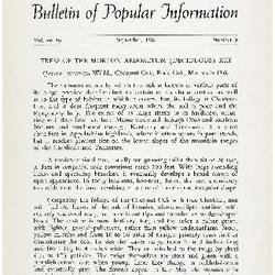 Bulletin of Popular Information V. 39 No. 06