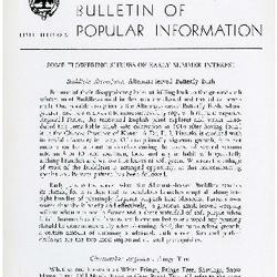 Bulletin of Popular Information V. 32 No. 11