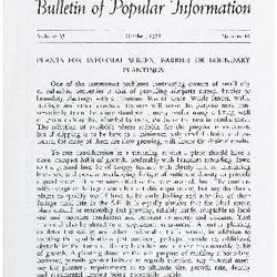 Bulletin of Popular Information V. 36 No. 05