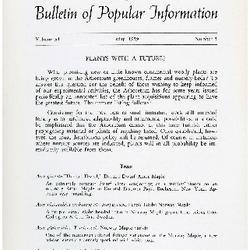 Bulletin of Popular Information V. 37 Index