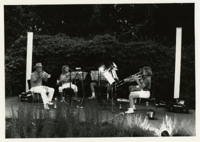 Volunteer Night - brass quintet