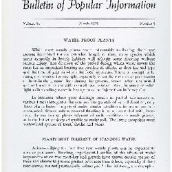 Bulletin of Popular Information V. 36 No. 11