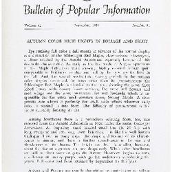 Bulletin of Popular Information V. 35 No. 05