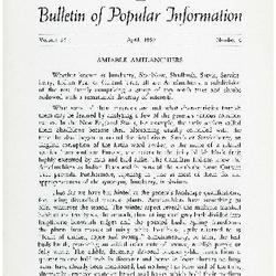 Bulletin of Popular Information V. 36 No. 12
