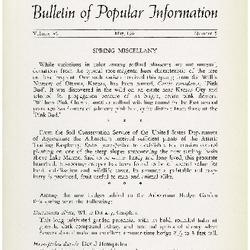Bulletin of Popular Information V. 39 No. 01