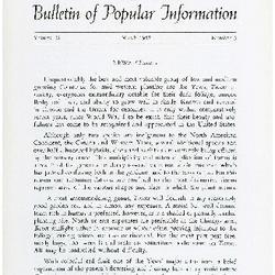 Bulletin of Popular Information V. 34 No. 09