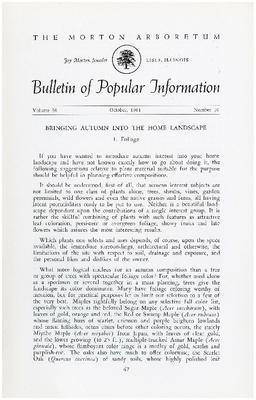 Bulletin of Popular Information V. 36 No. 10