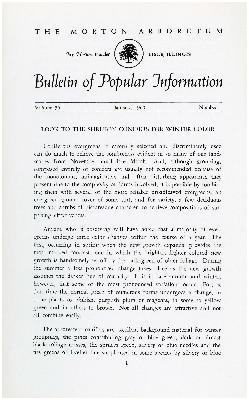 Bulletin of Popular Information V. 35 No. 01