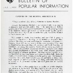 Bulletin of Popular Information V. 32 No. 01