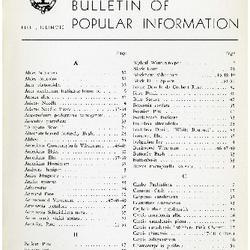Bulletin of Popular Information V. 32 No. 05