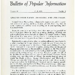 Bulletin of Popular Information V. 39 Index