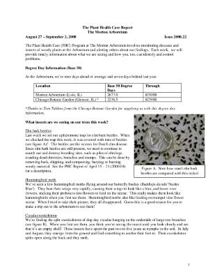 Plant Health Care Report: Issue 2000.22