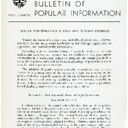 Bulletin of Popular Information V. 32 No. 06