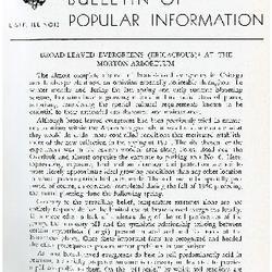 Bulletin of Popular Information V. 33 No. 12