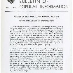 Bulletin of Popular Information V. 33 No. 07